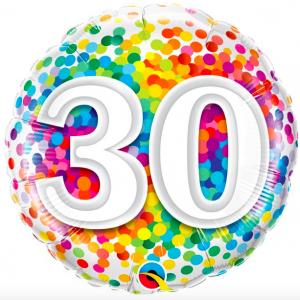 30 jaar confetti